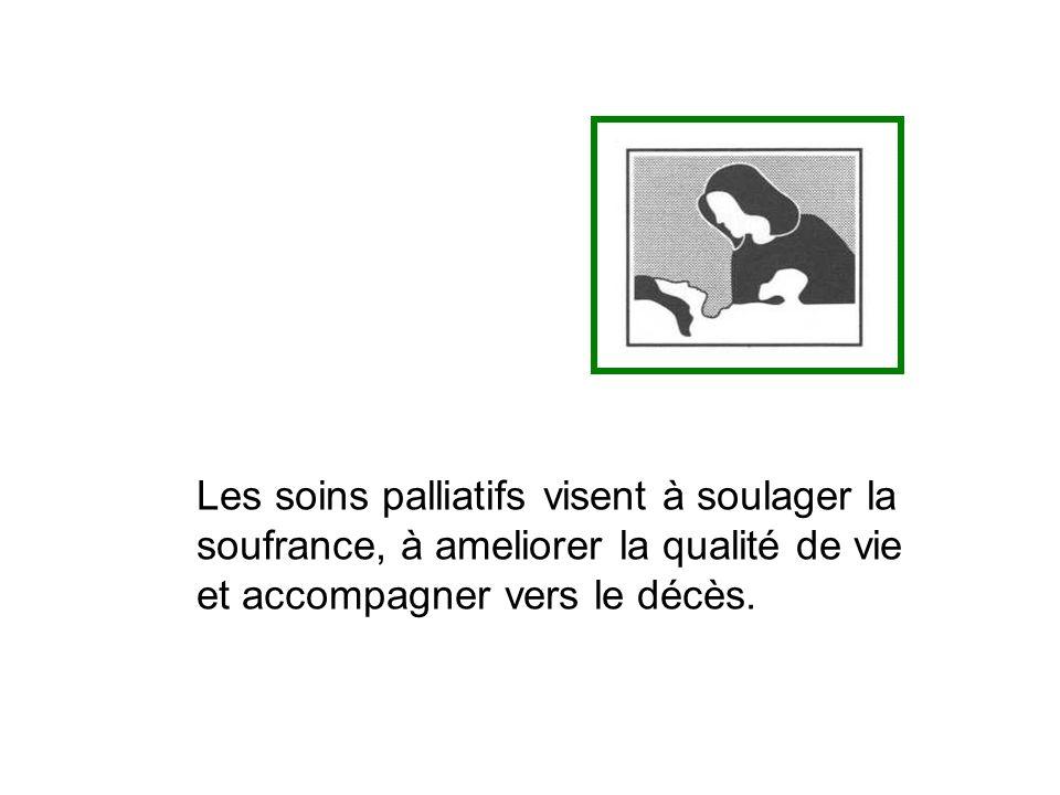 Formation continue de médecins et infirmières en soins primaires Stages Soulagement de la douleurs et autres symptômes Processus de partage de l´information Soins aux dernières heures de la vie.