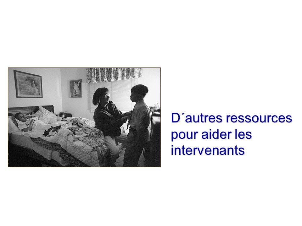 D´autres ressources pour aider les intervenants