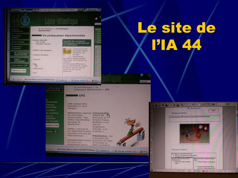 Le site de lIA 44