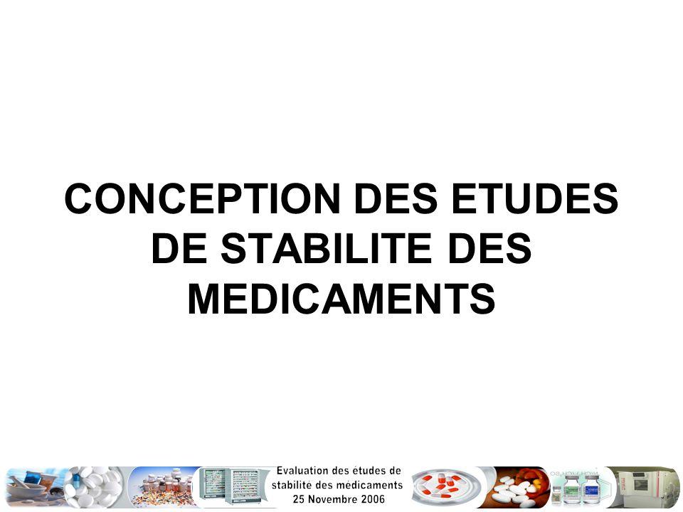 Introduction: La directive Q1A : « Essais de stabilité des nouveaux principes actifs et de leur forme médicamenteuse », La directive Q1C : « Essais de stabilité des nouvelles formes posologiques » qui stipule ce qui suit: