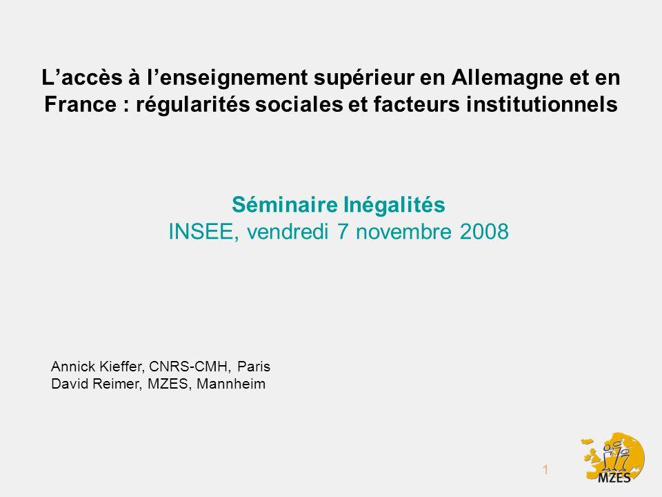 2 Plan 1.Introduction 2. La France et lAllemagne dans une perspective comparative 3.