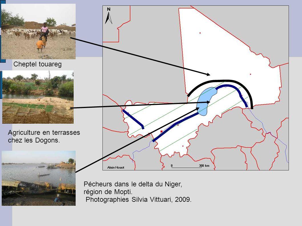 Pécheurs dans le delta du Niger, région de Mopti. Photographies Silvia Vittuari, 2009.