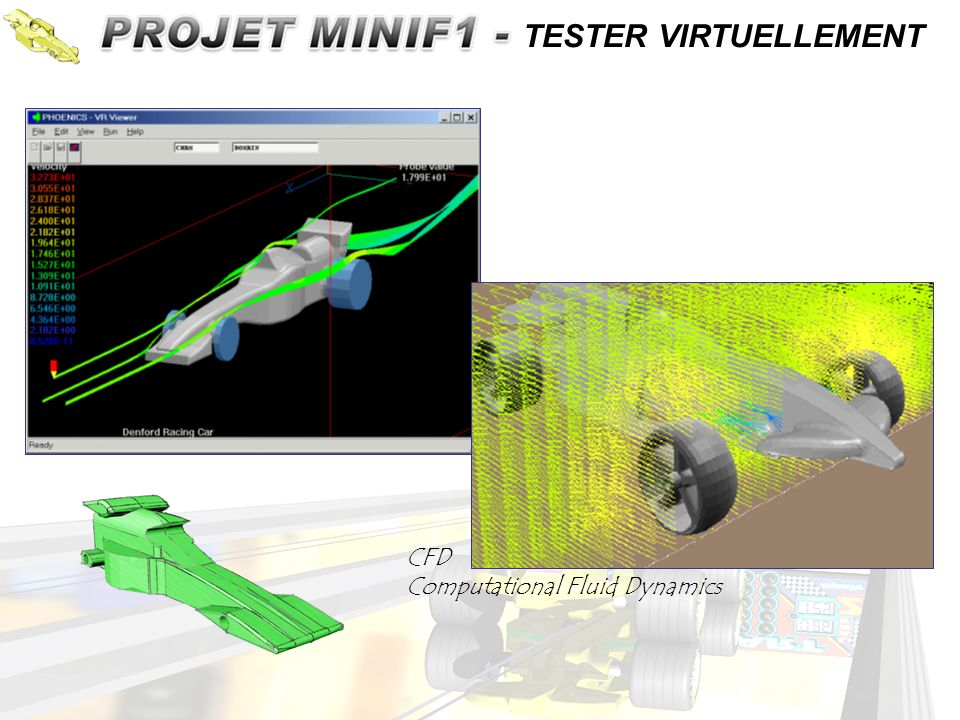 CFD Computational Fluid Dynamics TESTER VIRTUELLEMENT