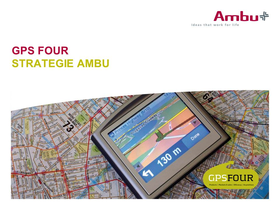 GPS FOUR STRATEGIE AMBU