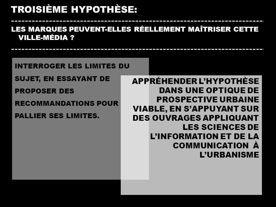 TROISIÈME HYPOTHÈSE: INTERROGER LES LIMITES DU SUJET, EN ESSAYANT DE PROPOSER DES RECOMMANDATIONS POUR PALLIER SES LIMITES. LES MARQUES PEUVENT-ELLES