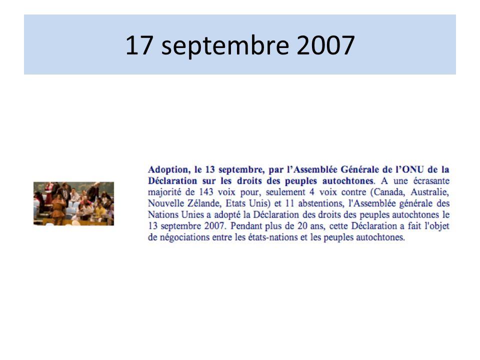 17 septembre 2007
