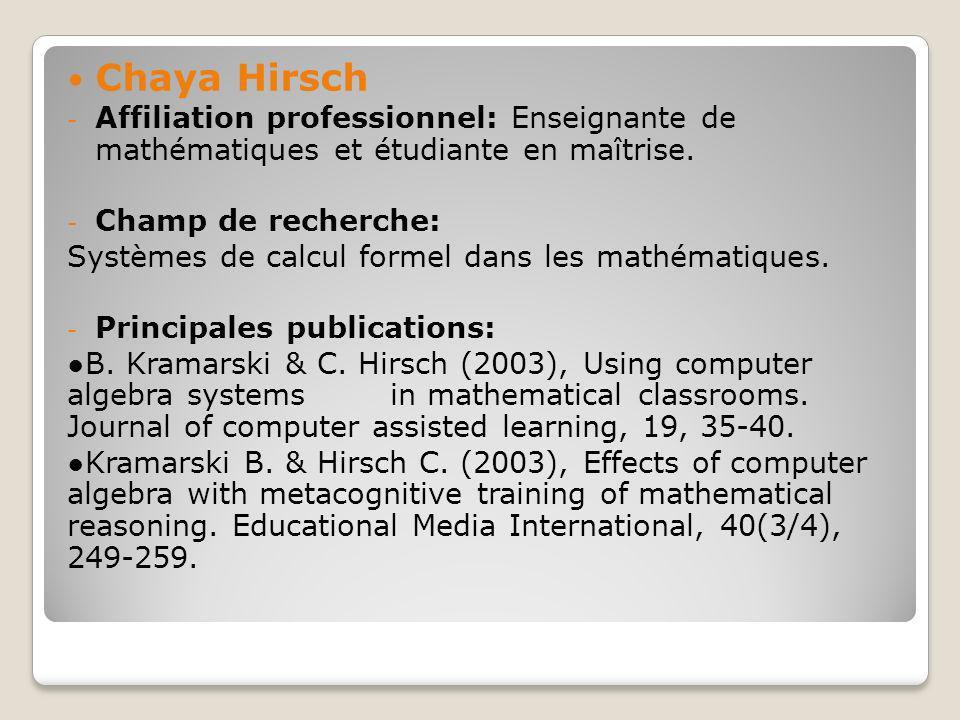 La plupart des contenus des diapositives étaient des textes; cependant quelques diapositives contenaient des graphiques pour afficher concepts psychologiques.