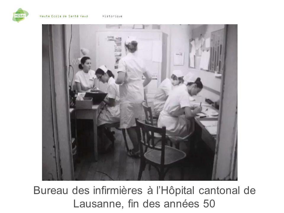 Haute Ecole de Santé Vaud 8 Historique