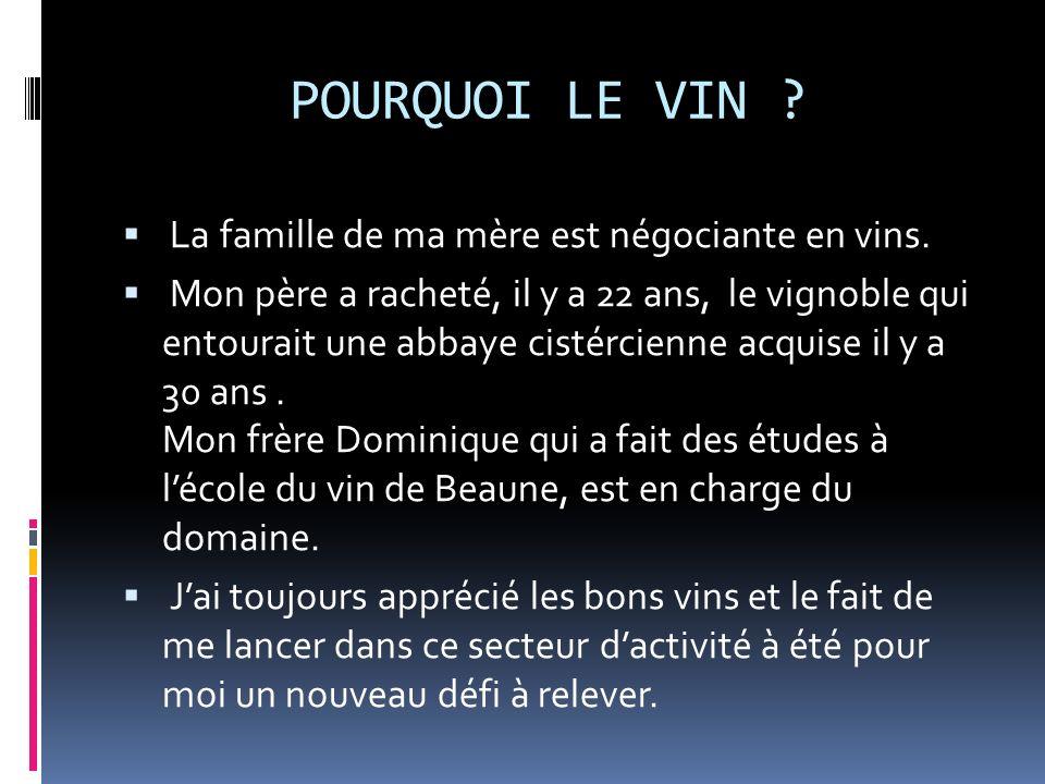 Prix des vins présentés en vente aux caves de Bondues Le Crémant : 9,50 Le Tonnerre blanc : 8,90 Le Petit Chablis sur les Clos : 12,50 Le Rosé : 7,50 La Côte de Grisey : 10,90 LAme des Dannots : 17