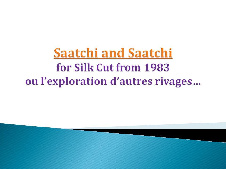 Silk Cut, une marque qui profite de lengouement au cours des années 70 pour des cigarettes Low Tar, moins nocives selon les études.