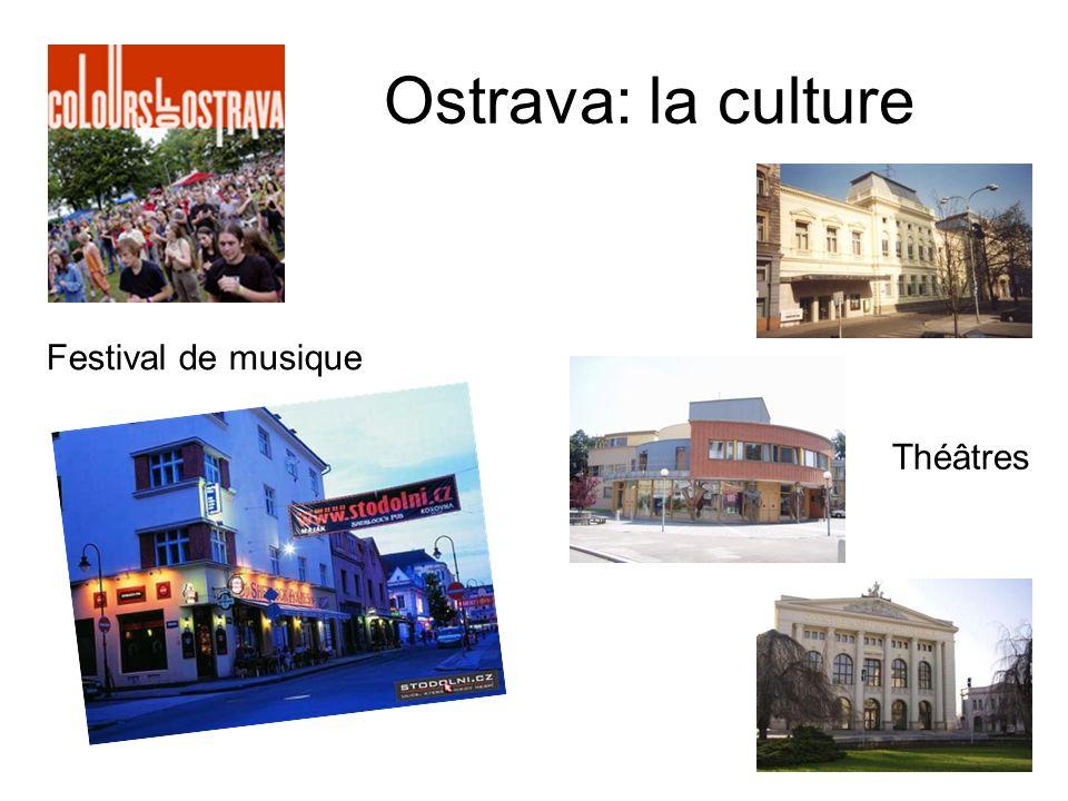 Ostrava: la culture Festival de musique Théâtres