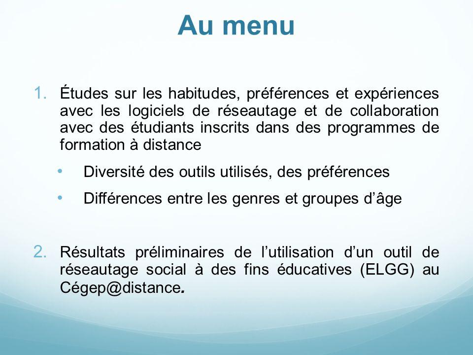10 Mars 2009 - Le réseautage social et ses applications éducatives - Bruno POELLHUBER et Mathieu REYNOUARD 3