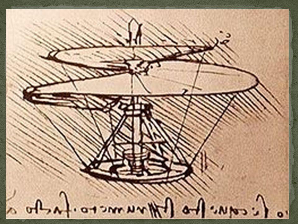Quelques dessins des « inventions » et idées de Léonard de Vinci… Il y à presque 500 ans! :