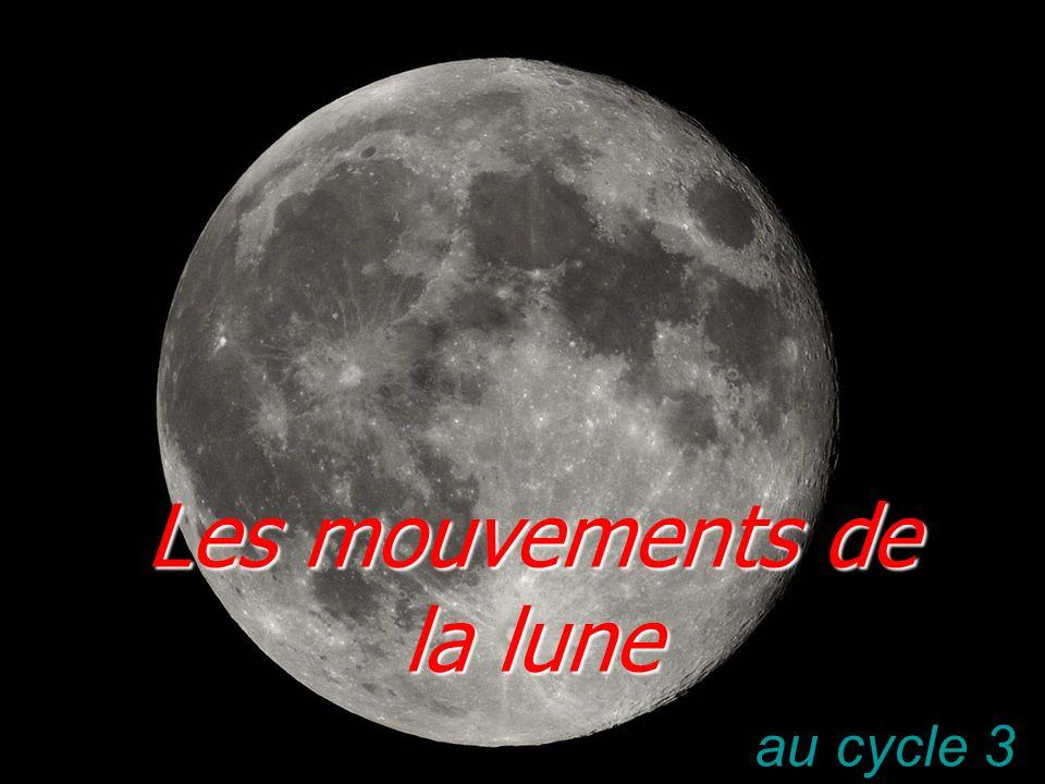 Le ciel et la Terre Le mouvement de la lune autour de la Terre.