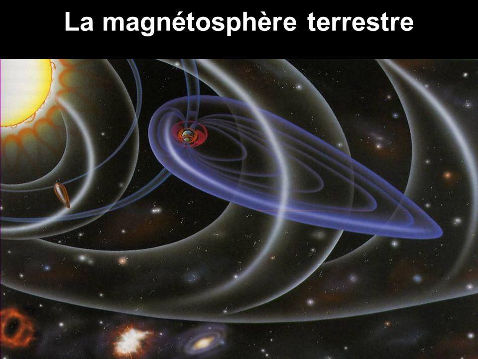 La magnétosphère terrestre
