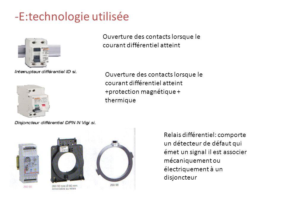 Tous ces courants de fuite associés peuvent faire déclencher les DDR Déclenchement intempestifs:TYPE SI Ordinateur, machine automatisée, instrumentati