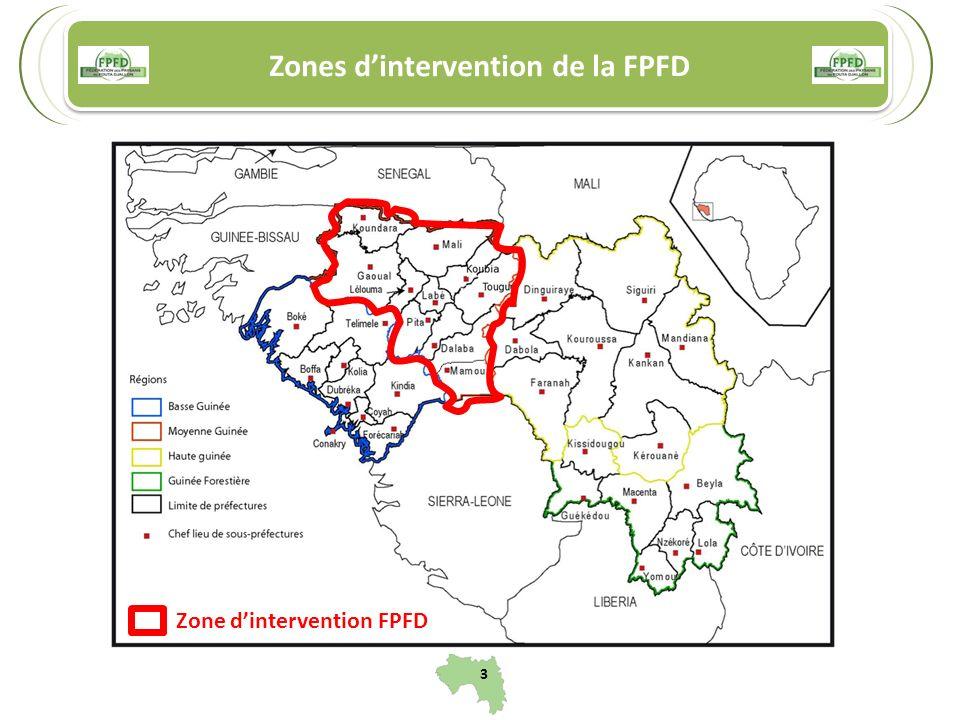 Zones dintervention de la FPFD Zone dintervention FPFD 3