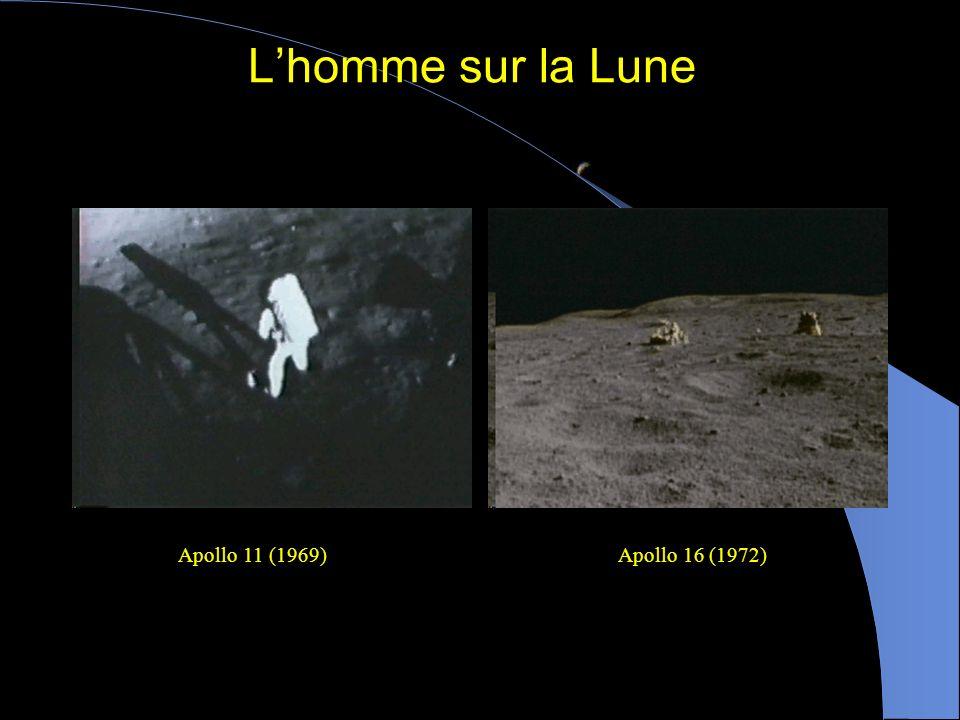 Gros plans de la Lune La sonde Ranger 9 est volontairement entrée en collision avec la Lune le 24 mars 1965. Alors quelle plongeait vers la Lune, elle