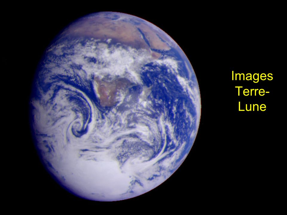 Images Terre- Lune