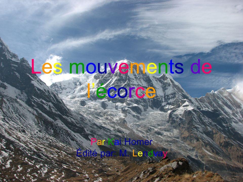 Les mouvements de lécorce Par Kai Homer Édité par: M. Lendvay