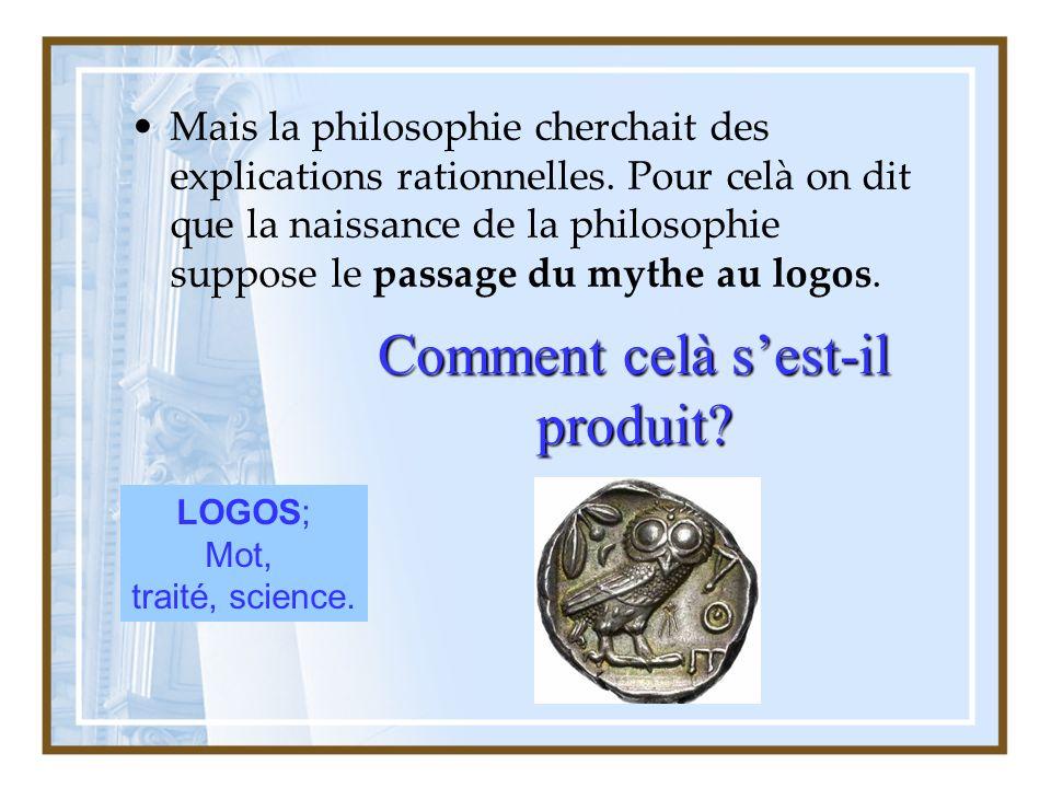 En réalité celà nest pas arrivé soudain, un miracle grec, il y eu de nombreuses influences.