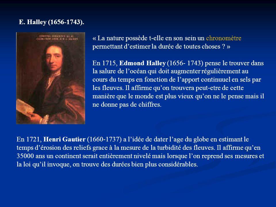 Pour Buffon, en 1755, la Terre était dorigine solaire (éjectée du soleil par une comète).