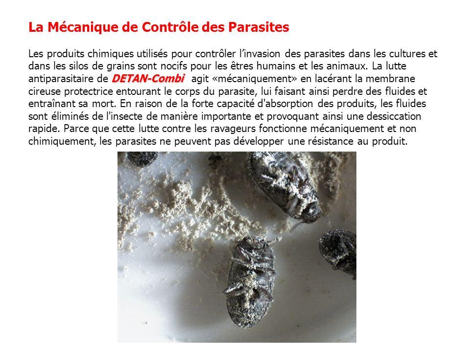 DETAN-Combi La Mécanique de Contrôle des Parasites Les produits chimiques utilisés pour contrôler linvasion des parasites dans les cultures et dans le