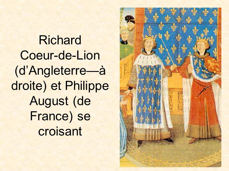 Les Croisades La première vague a été massacrée Dautres vagues ont suivi On a pris Jérusalem en 1099 Les francs ont fondé «le royaume franc de Jérusalem».