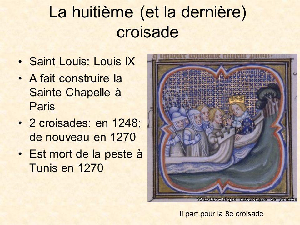 Louis IX et sa mère, Blanche de Castille