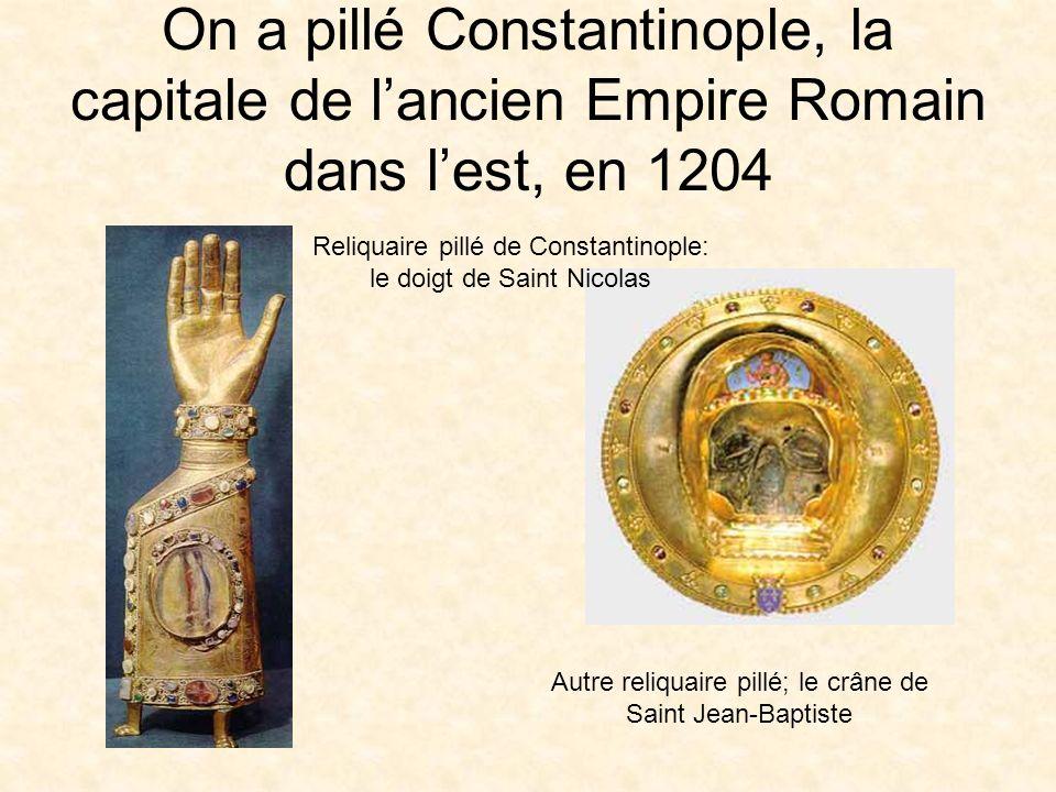 Conséquences des Croisades Un monde nouveau a été découvert La civilisation orientale était plus riche et plus luxueuse que celle dEurope Les croisés ont rapporté des produits du Moyen Orient Ce contact avec le Moyen Orient a changé lEurope