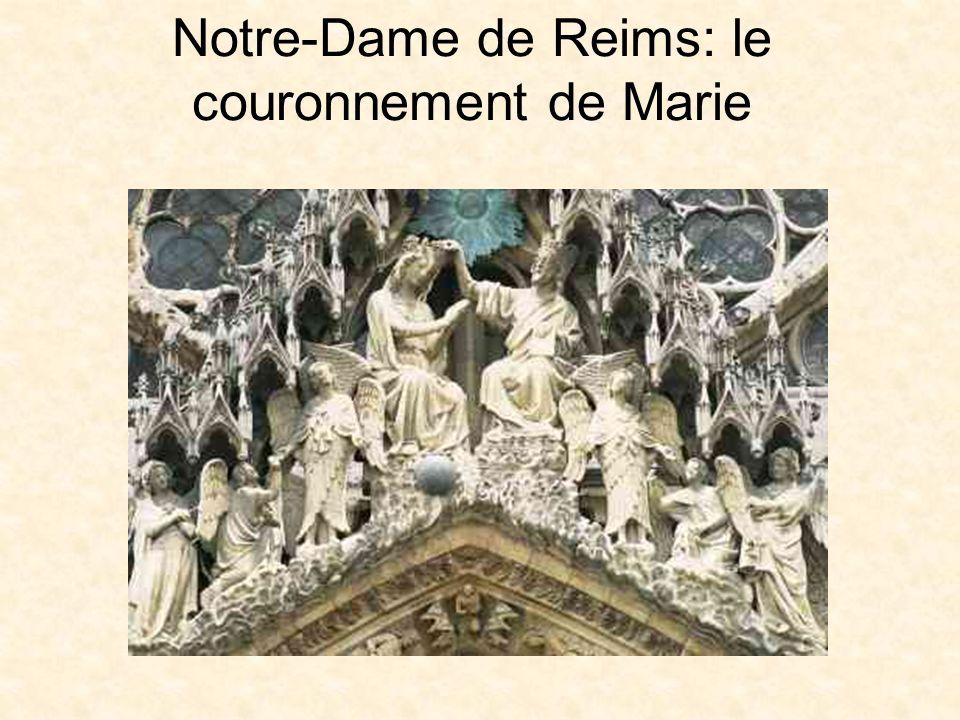 Tympan de la cathédrale de Chartres; http://www.bc.edu/bc_org/avp/cas/fnart/arch/chartres_sculp.html http://www.bc.edu/bc_org/avp/cas/fnart/arch/chartres_sculp.html La cathédrale de Reims