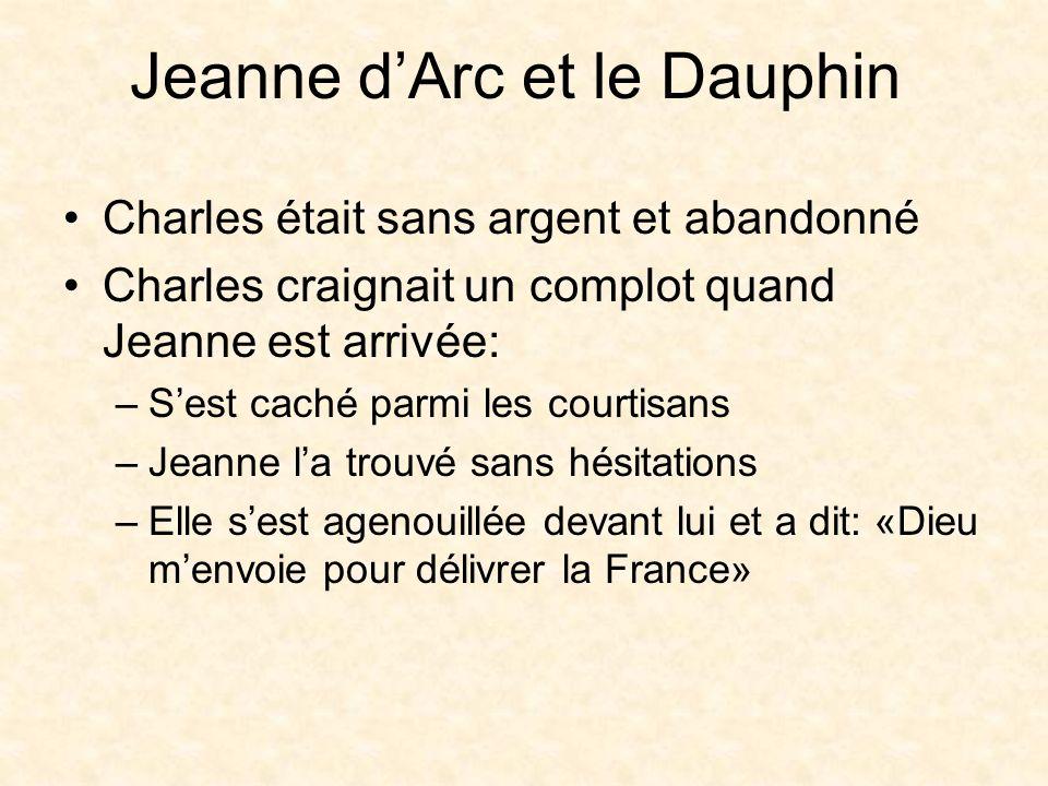 Jeanne dArc et le Dauphin