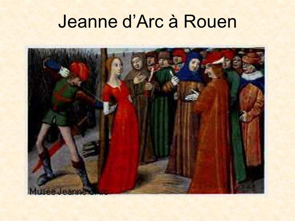 La Fin de la Guerre de Cent Ans Après la mort de Jeanne dArc, les victoires françaises ont continué En 1453, lAngleterre a perdu tout son territoire français, sauf la ville de Calais En 1453, la Guerre de Cent Ans a fini Charles VII est resté roi de France