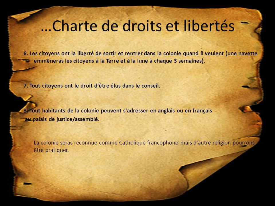…Charte de droits et libertés 6.