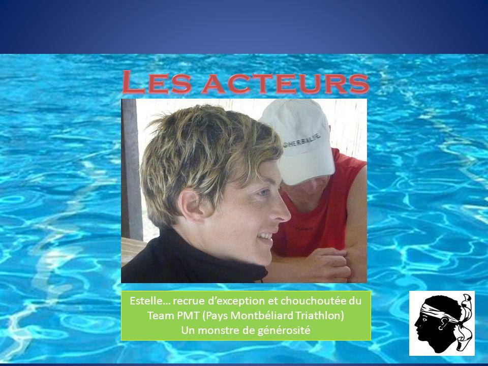 Estelle… recrue dexception et chouchoutée du Team PMT (Pays Montbéliard Triathlon) Un monstre de générosité