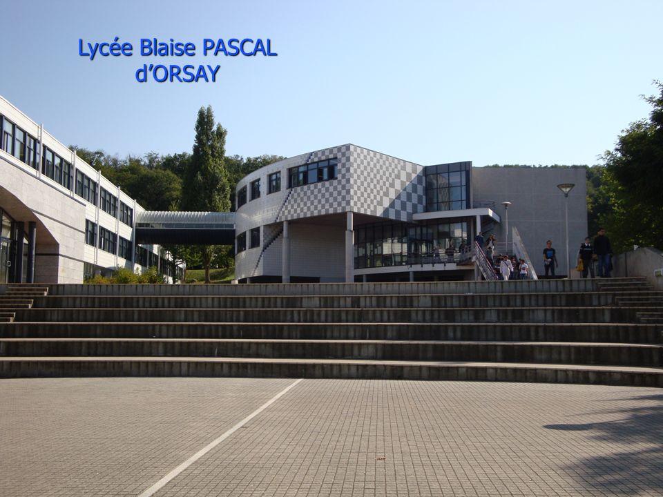 Lycée Blaise PASCAL dORSAY