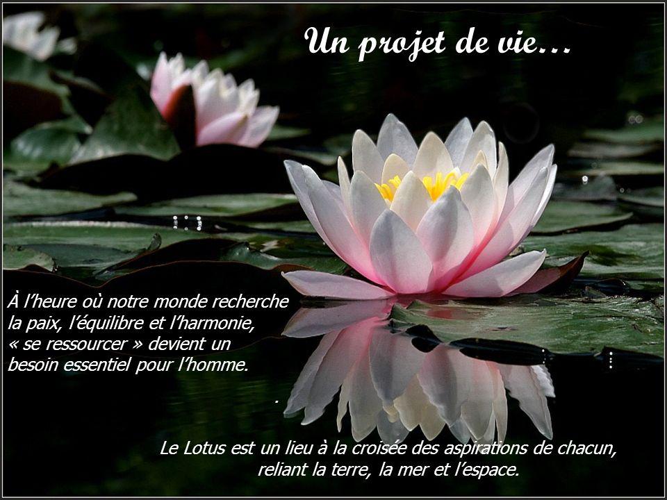 À lheure où notre monde recherche la paix, léquilibre et lharmonie, « se ressourcer » devient un besoin essentiel pour lhomme..