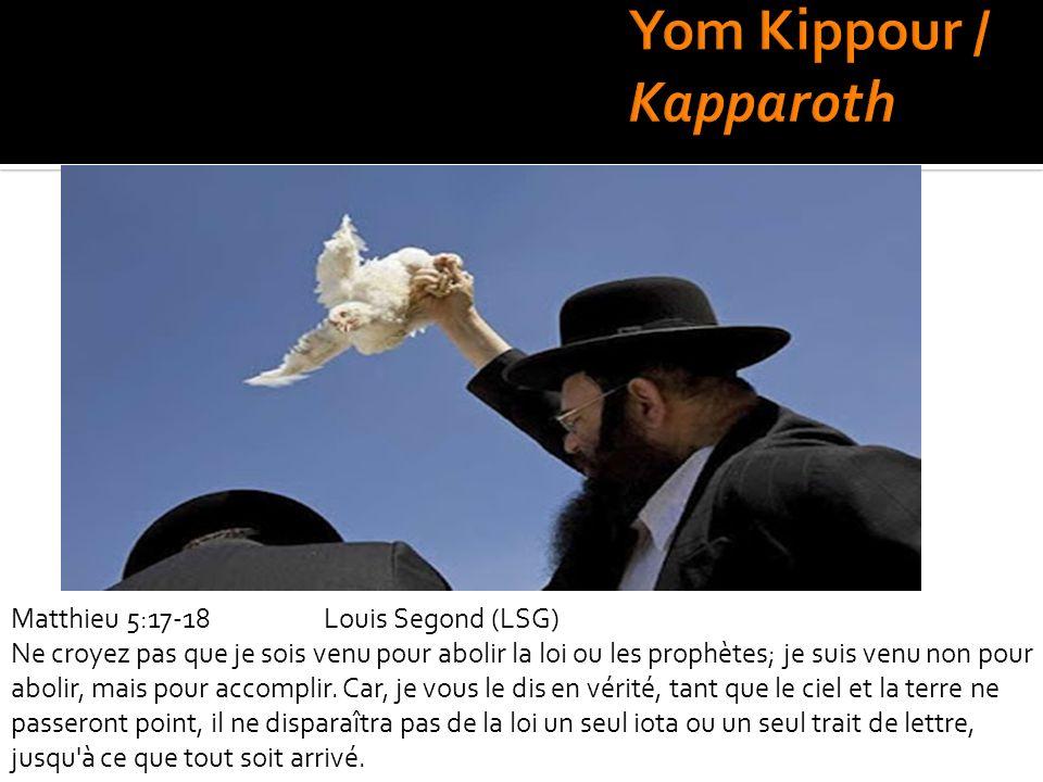 Matthieu 5:17-18Louis Segond (LSG) Ne croyez pas que je sois venu pour abolir la loi ou les prophètes; je suis venu non pour abolir, mais pour accompl