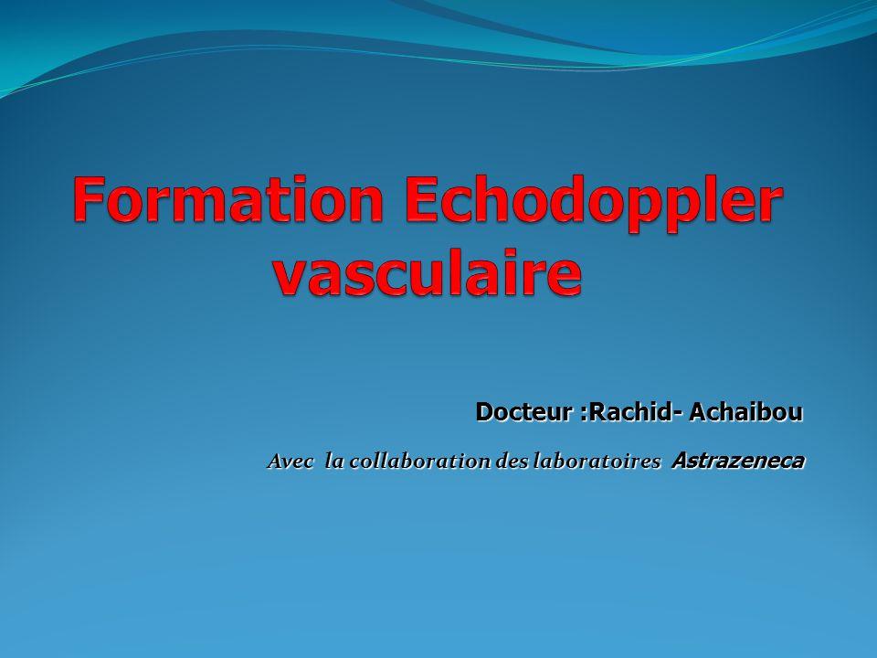 Docteur :Rachid- Achaibou Avec la collaboration des laboratoires Astrazeneca
