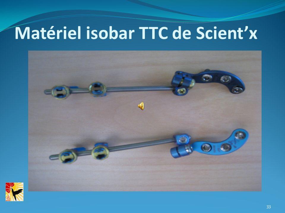 Matériel isobar TTC de Scientx 33