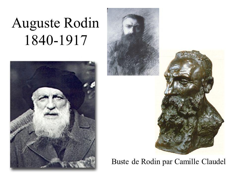 Auguste Rodin 1840-1917 Buste de Rodin par Camille Claudel