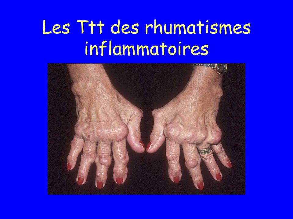 Les Ttt des rhumatismes inflammatoires