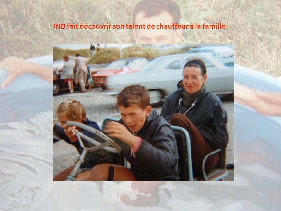 JND fait découvrir son talent de chauffeur à la famille!