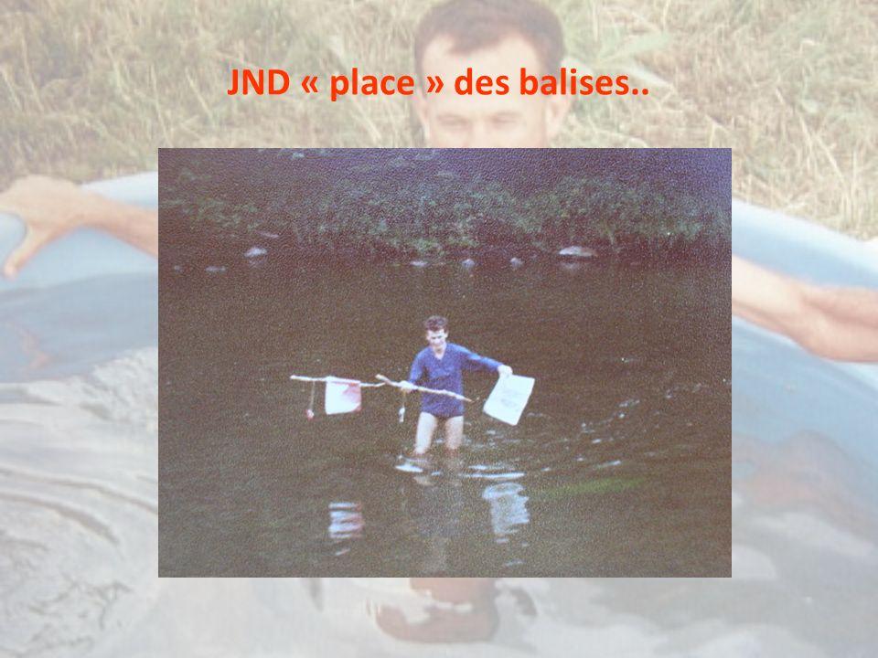 JND « place » des balises..