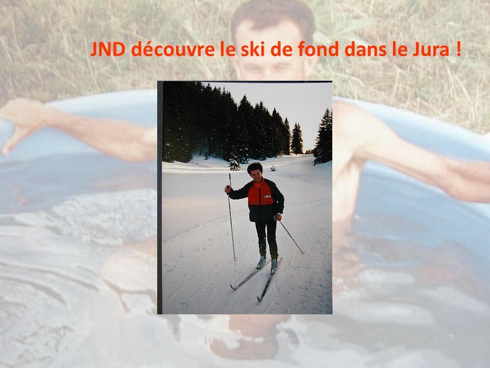 JND découvre le ski de fond dans le Jura !