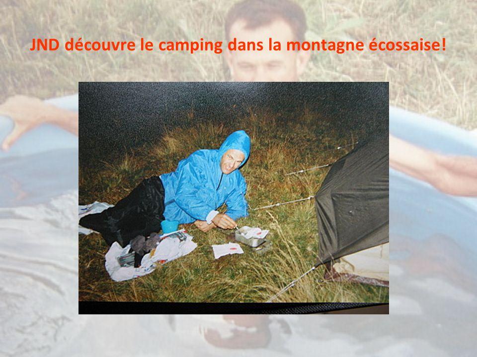 JND découvre le camping dans la montagne écossaise!