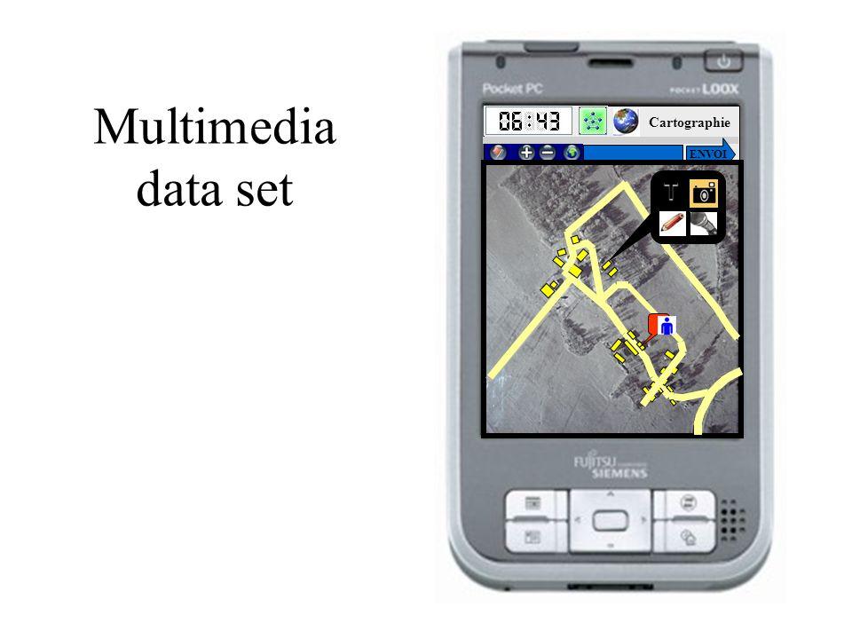 Multimedia data set HOME Cartographie ENVOIT
