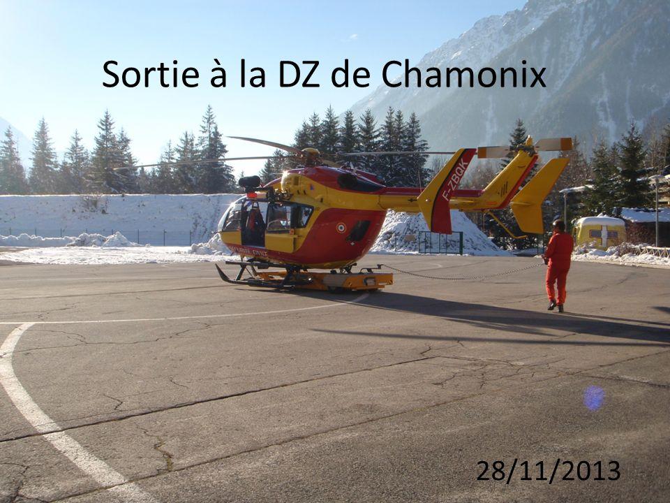 Sortie à la DZ de Chamonix 28/11/2013