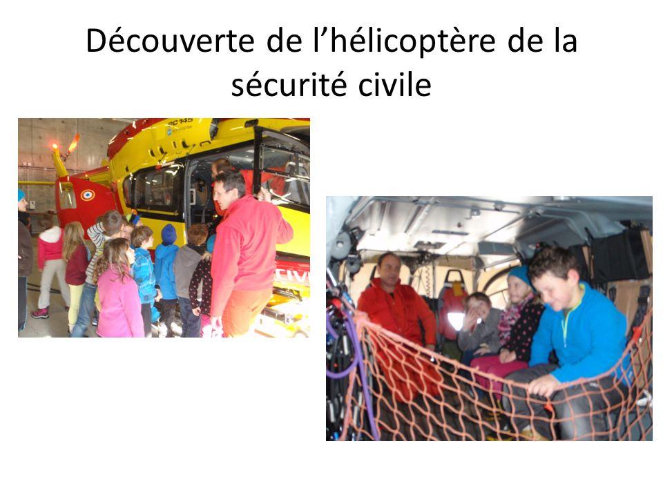 Découverte de lhélicoptère de la sécurité civile