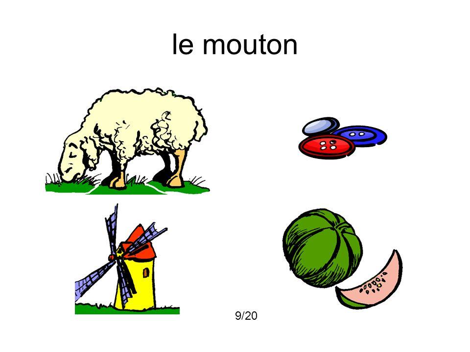 le mouton 9/20